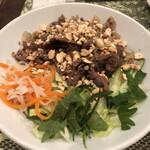 ベトナム料理専門店 サイゴン キムタン - 牛肉炒めビーフン¥990