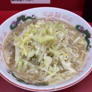 ラーメン二郎 - 料理写真:小、ヤサイ、ニンニクマシ