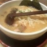 白樺山荘 - 味噌ラーメン