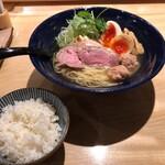 152833452 - 特製塩らぁ麺+ライス