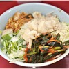 ラーメン二郎 - 料理写真:小ラーメンぶた2枚+ねぎ汁なし+ピリ辛にらだれ 780+100+50円