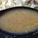 肉そば屋にっこう - スープ