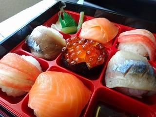 実演空弁 北の味覚 すず花 - 手まり寿司/いくら