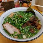 麺屋 無双 - 料理写真:牛骨ラーメン  ( ねぎ増し )