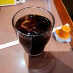 松本屋 - アイスコーヒー。