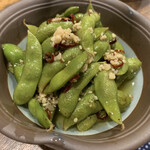 鳥吉 - ペペロン枝豆