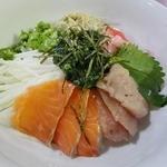 たんぽぽ - 海鮮丼(日替わり定食の一部)