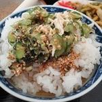 たんぽぽ - 川島町名物のすったて(冷や汁飯)