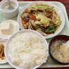 吉田大飯店 - 料理写真:回鍋肉定食 750円