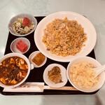 中国料理 大成閣 - 麻婆チャーハン定食