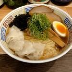 煮干乃宴 - 料理写真:あっさり醤油(650円)+大盛(120円)+ワンタン(200円)税込