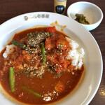カレーハウス CoCo壱番屋 - 料理写真:チキンとトマトのホットスパイスカレー 1024円