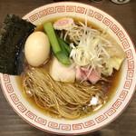 麺屋 誠栄 - 特製中華そば(煮干し・醤油)(950円)