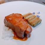 152858593 - ⚫千代幻豚 肉質しっかりでうま味が強い