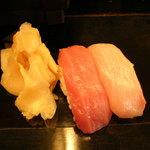 大将寿司 - にぎり上 最初の2カン