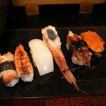 大将寿司 - にぎり上 最後の6カン