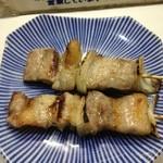 やきとり 九十九 - 料理写真:豚バラ