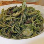 15286581 - 森のキノコ バジル風味スパゲティ