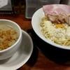 頑固麺 - 料理写真:濃厚白湯 泡塩白湯つけ麺1100円