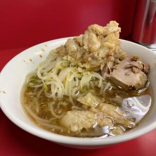 ラーメン二郎 - 料理写真:【再訪】つけ麺ニンニク味のつけ汁