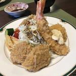 ちかさんの手料理 - スペシャルミックス 海老ホタテヒレのフライ
