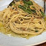 152863250 - カラスミと菜の花のペペロンチーノ 大盛り