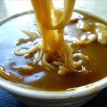 吉野家 - カレーそばの麺