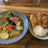スープカレー鳩時計 - 料理写真:「チキンと野菜のスープカレー 」の「ザンギ」トッピング