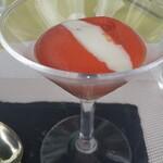 グランファミーユ・シェ松尾 - トマトのエスプーマ