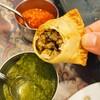 チャトパタ - 料理写真:サモサの中身