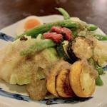 猫町 - 温野菜のサラダアンチョビソース
