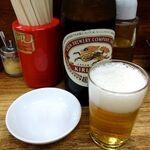 152884537 - 「ビール」(中瓶580円)
