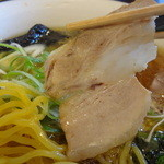 麺処てっぺん - 幻鶏ラーメン チャーシューアップ