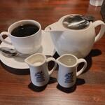 CAFFE' JIMMY BROWN - オリジナルブレンドのホットコーヒー。
