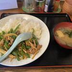 和光 - 料理写真:ルースー飯(700円)