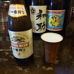 炎神 - 瓶ビール一番搾り中瓶620