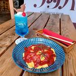 Taishuusakabafutaba - トマトソースのオムライス @ ふわトロっ!