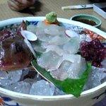 1529802 - ほうぼうというお魚のお刺身です。