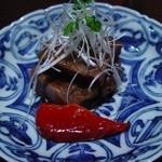 柳庵 - 3000コース3品目、村上牛の味噌づけ