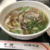 茂平食堂 - 料理写真:アサリと水菜のハリハリうどん