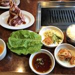 焼肉 白雲台 - 黄金カルビ定食