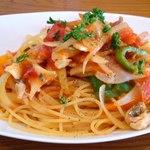 オールウェイズ - 料理写真:シーフードスパゲティセット1,100円