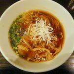 牛薫る麺処 嵐風 - 牛醤油らぁ麺 720円