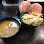 ラーメン あおやま - 濃厚鶏白湯つけ麺