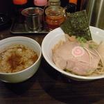 麺屋 うろこ - 「あつもり(並)」(味玉入)850円