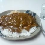 味の店 二幸 - カツカレー大盛り☆1000円(2012/9)
