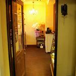 カフェ ルミエール - 入り口です