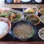 郷土料理吾兵衛 - 日替わり定食(840円)