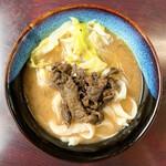 たかちゃんうどん - 料理写真:肉うどん