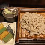 さ竹 - 生麩そば(冷) 580円